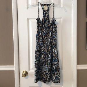 Scoop NYC ruffle top dress